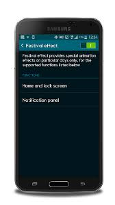 samsung galaxy s5 lock screen apk festival effect on the samsung galaxy s5 lte a shows beautiful