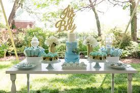Kara s Party Ideas Blue & Gold Baby Shower