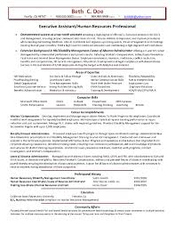 Hr Executive Resume Sample by The Most Amazing Human Resources Assistant Resume Sample Resume