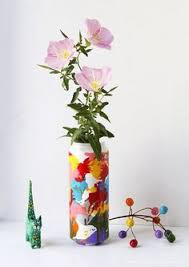 How To Paint A Vase Clothes Made Using Recycled Aluminum Can Pull Tabs Reuse