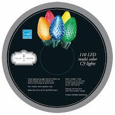 trim a home 110ct led c9 light set on reel multi color shop