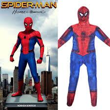 halloween spiderman costume children 2017 new spider man homecoming cosplay costume teen
