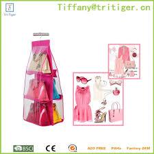 household durable hanging bag closet organizer storage for handbag