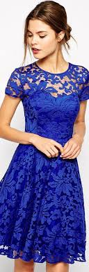 blue lace dress best 25 royal blue lace dress ideas on vintage