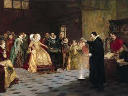 queen elizabeth ii beams after winning a a 98 voucher from a painting of john dee astrologer to queen elizabeth i contains a