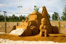 bob builder team visit pop beach london