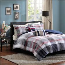 Plaid Bed Sets Contemporary Plaid Comforter Set Bed