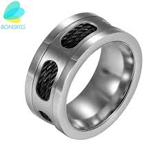 aliexpress buy 2017 new arrival mens ring fashion boniskiss 2017 new fashion silver stainless steel rings men ring