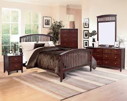 set with pewter hardware cherry finish lawson bedroom set