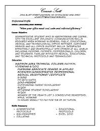 9 profile for resume bursary cover letter personal profile format