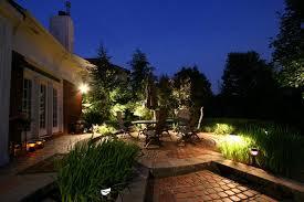 Outdoor Landscape Lighting Design - diy landscape outdoor house with night landscape lighting design