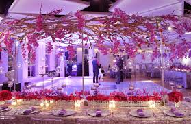 the long table pink design nikki u0027s pink bat mitzvah party at