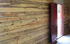 Log Siding For Interior Walls Blue Stain Pine Paneling Buffalo Lumber
