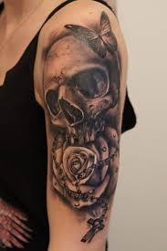 1158 best skull tattoos images on pinterest rabbits arm