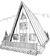 a frame cabin floor plans attractive inspiration a frame home design plans simple plans
