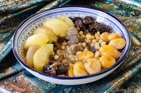 cuisine pour le ramadan ham el helou un plat algérien sucré salé très parfumé on le sert