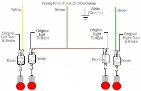 trailer tail light wiring diagram wiring diagram and schematic