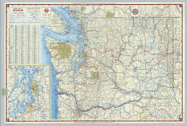 Maps Of Washington State by Shell Highway Map Of Washington David Rumsey Historical Map