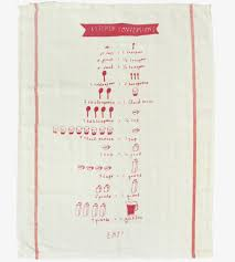 Gifts For The Kitchen Cooking Measurements Kitchen Towel Gifts For The Chef People I