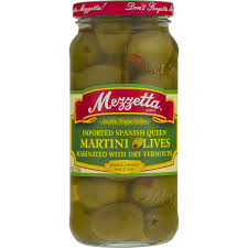 martini dry vermouth mezzetta martini olives imported spanish queen marinated with dry