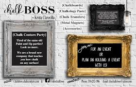 Home Decor Party Plan Companies Chalk Boss What U0027s Up Ohio