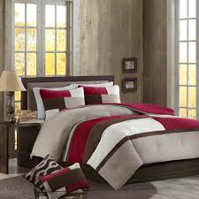 Microsuede Duvet Cover Queen Better Homes And Gardens Microsuede Pieced Bedding Comforter Mini