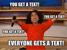 Group Message Meme - the 8 types of people in every group text