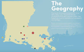 louisiana geographical map purgatory usa a map of true detective country big think
