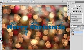 christmas card template gimp template idea