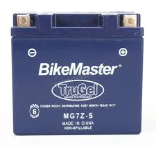 bikemaster trugel 12 volt battery mg7z s atv dirt bike