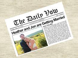 newspaper wedding program 9 creative destination wedding program ideas destination wedding