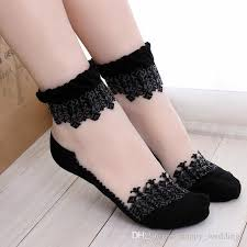 s socks new top quality sweet lace ultrathin