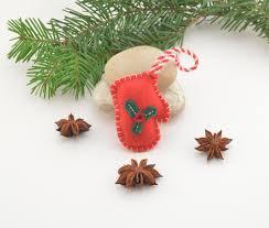 glove christmas decoration christmas tree decoration