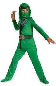 green master ninja classic ninjago legos kids boys costume lloyd
