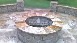Brick Firepits Paver Pits Brilliant Pit And Patio Within 3 Allthingschula