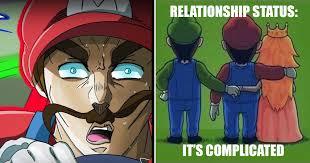 Mario Memes - plumber wars hilarious mario vs luigi memes thegamer
