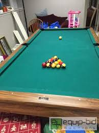 brunswick bristol 2 pool table vintage brunswick bristol ii 8 foot pool table prairie village