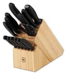 victorinox kitchen knives victorinox swiss army 15 knife block set
