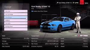 Ford Shelby Gt500 Engine Gran Turismo 6 Ford Shelby Gt500 U002713 1080p Youtube