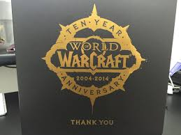 10 anniversary gift world of warcraft 10 year anniversary gift unboxing