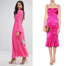 hot pink dress what color shoes with hot pink dress fuchsia magenta dress