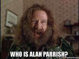 Alan Meme - who is alan parrish robin williams what year is it jumanji