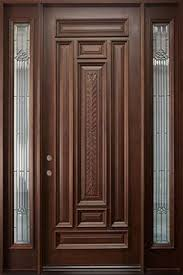 this is solid diyar wood double door with solid sides frame code