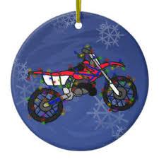 dirt bike ornaments keepsake ornaments zazzle