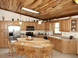 Kitchen Cabinets Style Hickory Kitchen Cabinets Style All Home Ideas Rustic Hickory With