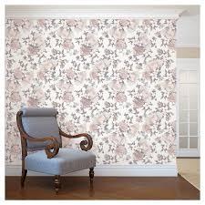 tempaper wallpaper tempaper botanical blossom removable wallpaper target