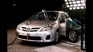 toyota 2011 2011 toyota corolla side crash test crashnet1 youtube