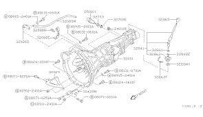 manual transmission transaxle u0026 fitting for 1993 nissan 240sx