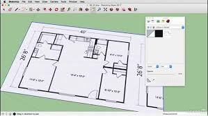 sketchup for floor plans create a floor plan on a mac