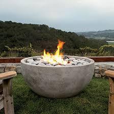 Gel Firepit Modern Pit Garden And Lawn Outdoor Rectangular Golfocd